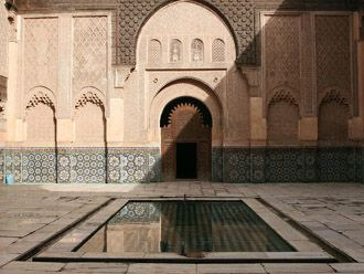 Patio de Madrasa